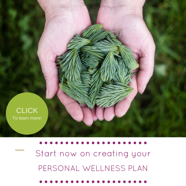 Personal wellness plan webpage