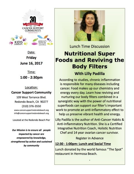 Super Foods - Lilly Padilla 6-16-17