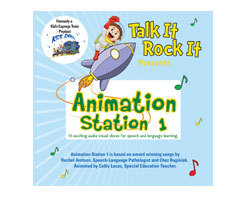 TIRI-401 - Animation Station 1 Audio-Visual Show CD-ROM