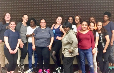 First Step Zumba Class with M Dance & Fitness in NYC