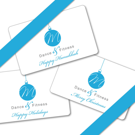 M Dance & Fitness Gift Cards in NYC