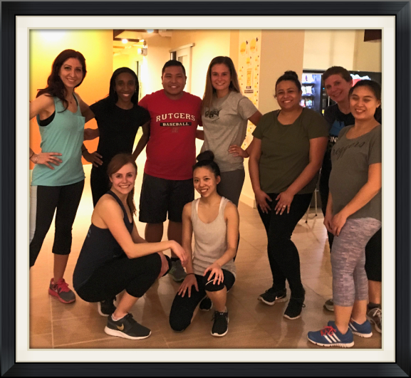 M Dance & Fitness Corporate Zumba Class for HGTV