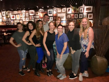 M Dance & Fitness Instructor Party at Casa Nonna in NYC