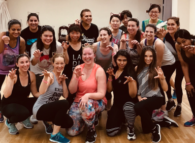 Halloween Zumba Class at M Dance & Fitness in NYC