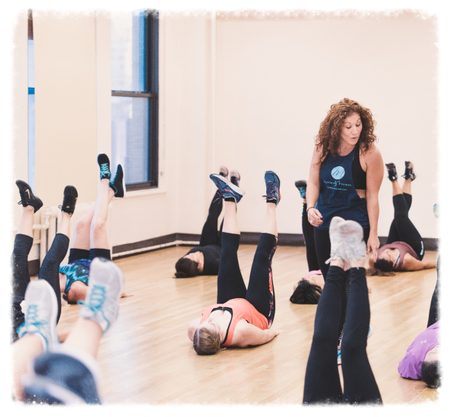 M Dance & Fitness Barre Bootcamp with Victoria Mayo in NYC