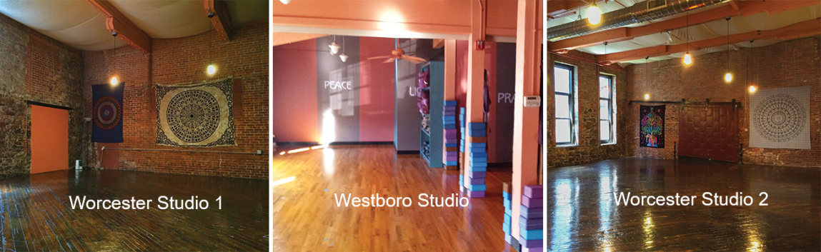 Our Studio Metrowest Yoga
