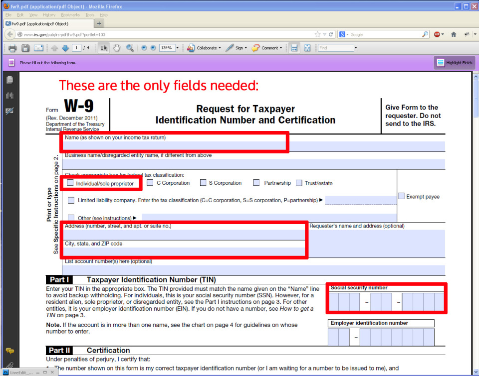 Where Can I Get A W 9 Form. Because You Must File A Form Misc This ...