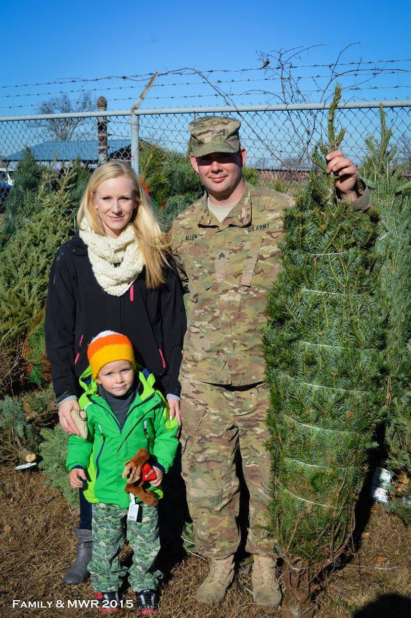 Donated Tree for Troops