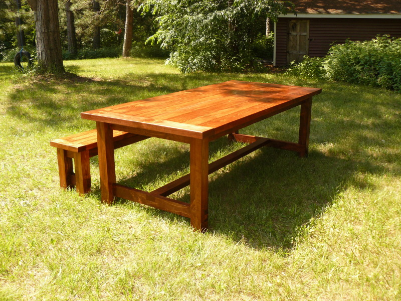 Farmhouse Dining Tables and Benches
