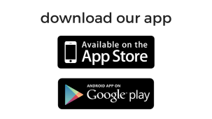 app available on app store and google play