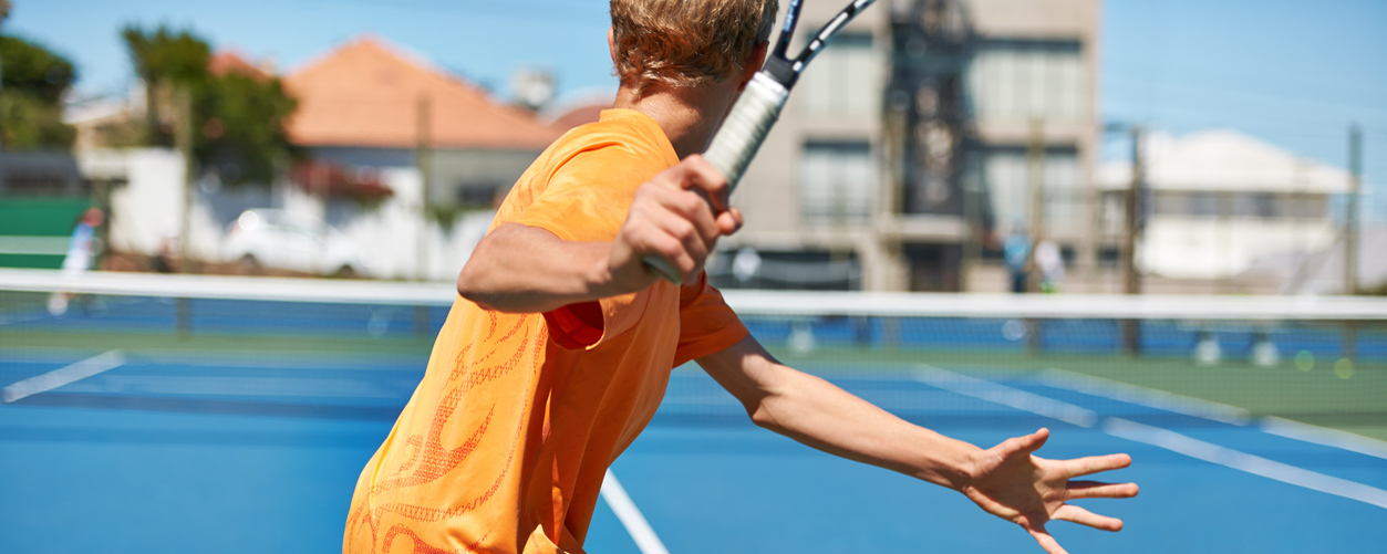 Kid at Jr. Tennis Academy at Murrieta Tennis Club in Murrieta, CA
