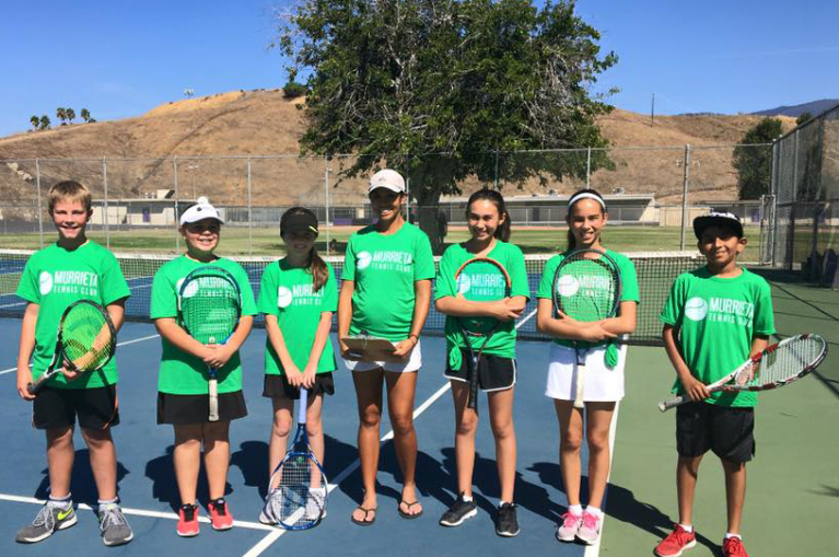 Junior Team Tennis at Murrieta Tennis Club in Murrieta, CA