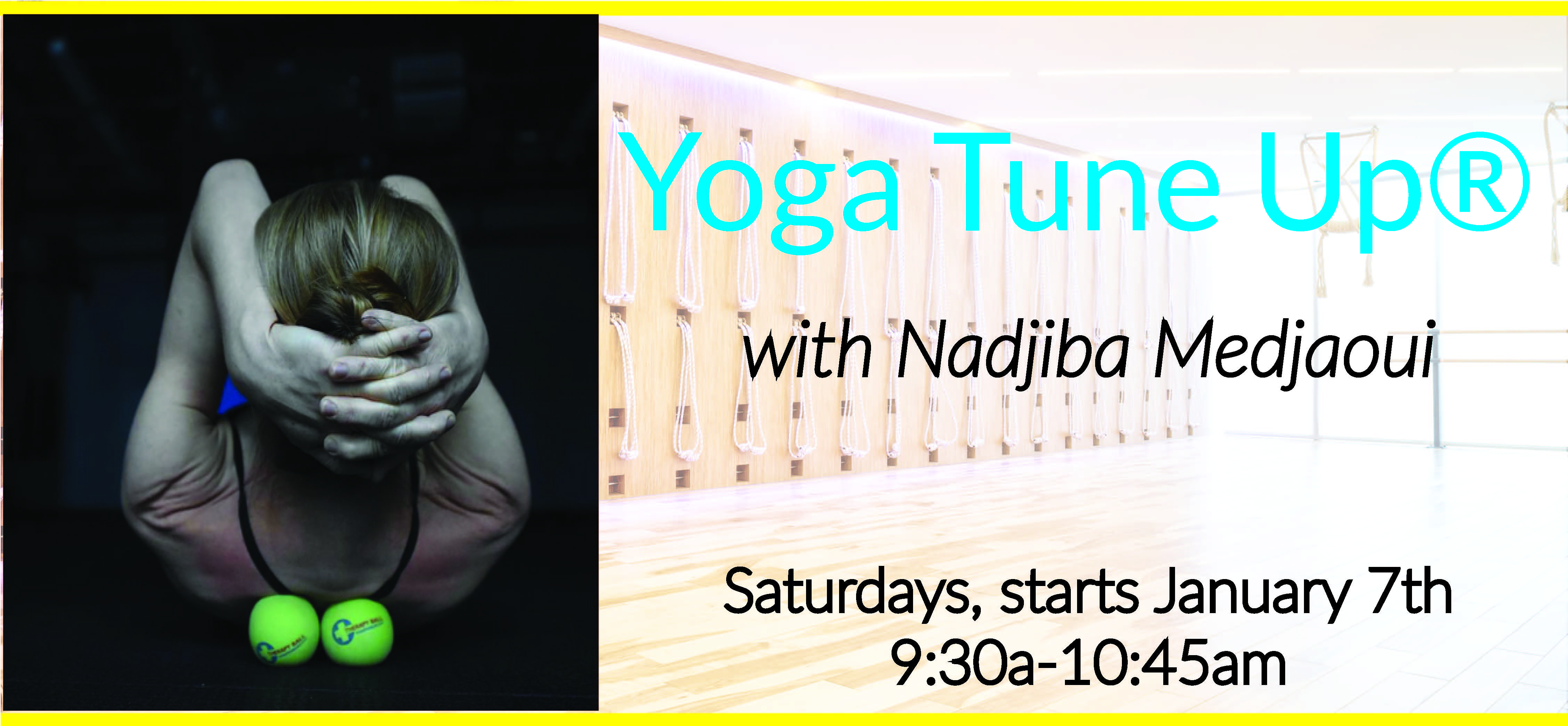 Yoga Tune up Banner