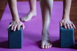 Hatha Yoga Class at Namaste Studio