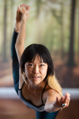 Sondra Sun; Yoga Teacher at Namaste Studios