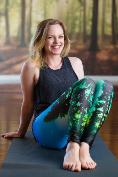 Megan Reinking; Yoga Teacher at Namaste Studios
