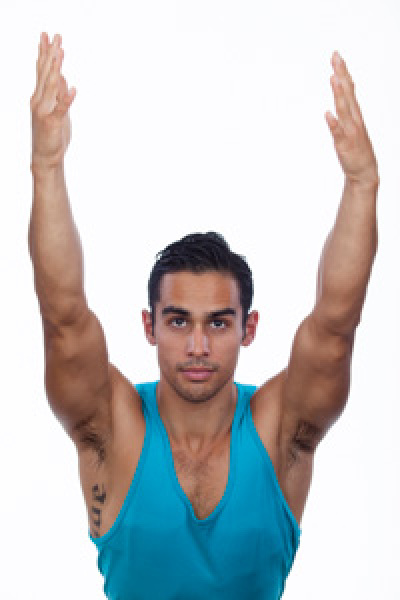 Steven Arcos; Yoga Teacher at Namaste Studios