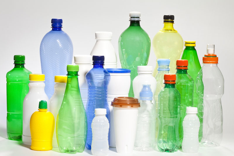 Plastic Bottles and Jars