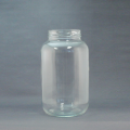 128 oz - 1 gallon glass food jar