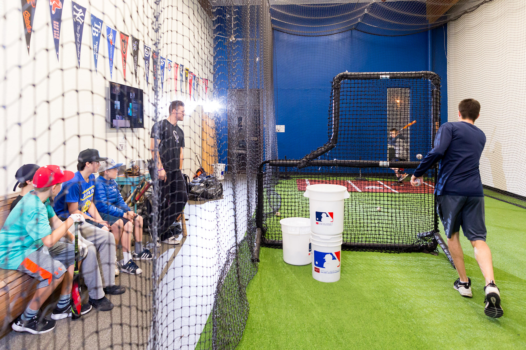Baseball Development Class in Session at Paradigm Sport