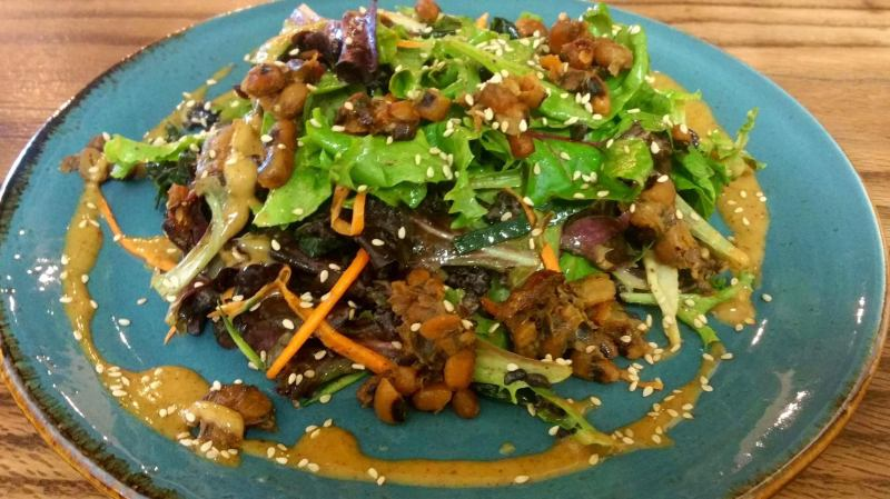 Asian Salad at Surya Cafe