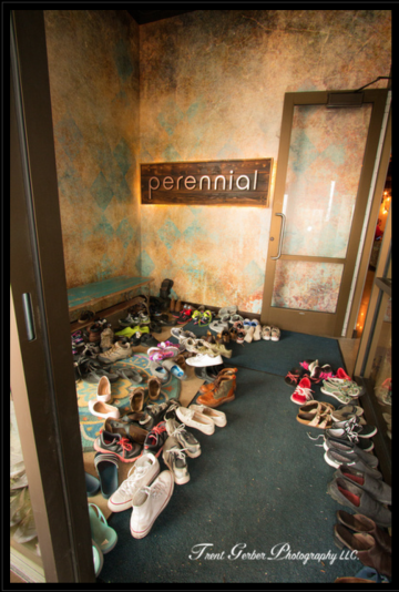 Shoe Storage at Perennial in Fitchburg, WI