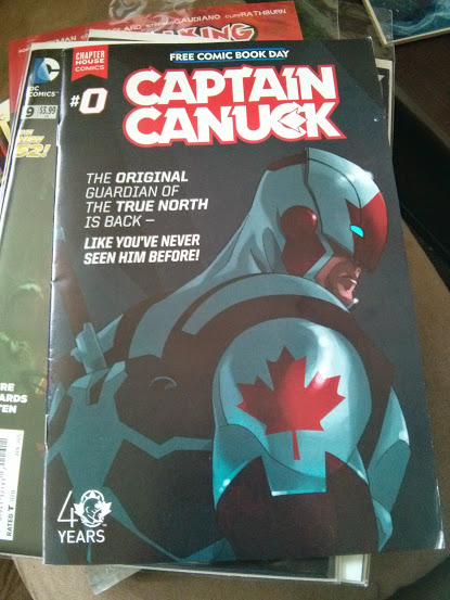 Captain Canuck 0
