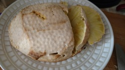 baked breadfruit