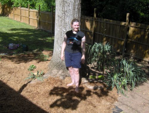 me in the morganton garden