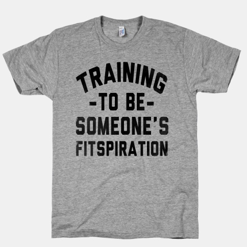 training to be fitspiration