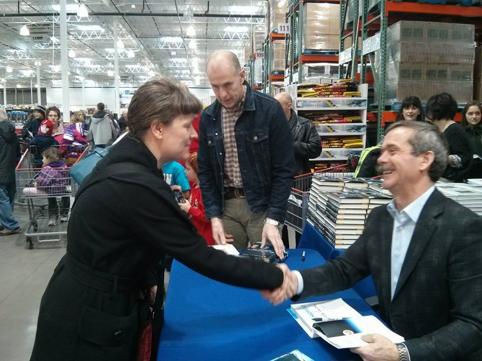 with Chris Hadfield