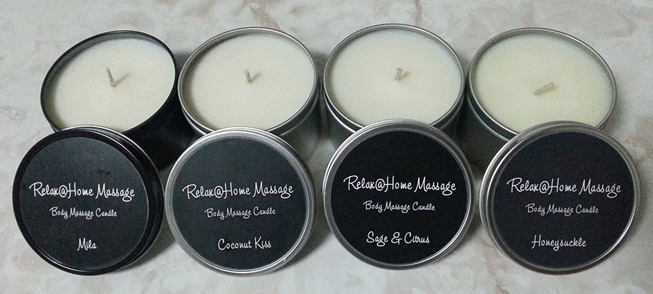 Body Massage Candles