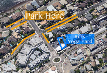 Parking Information for Riffs Studios