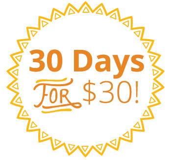 30 Days of Yoga for $30!