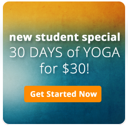 New Student Special at Savannah Yoga Center