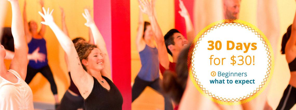 New Yoga Students - 30 Days for $30!