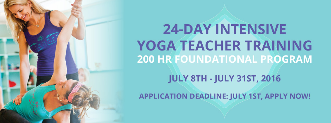 24 Day Intensive Yoga Teacher Training | Savannah Yoga Center