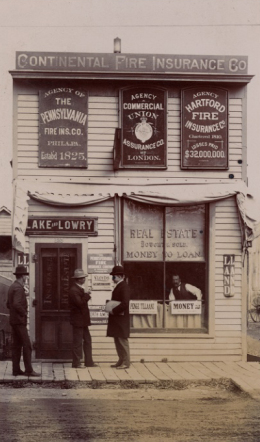 Lake & Lowry Insurance in 1894