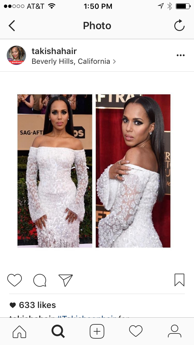Kerry Washington, SAG