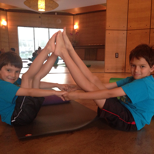 Kids Yoga at Spectra Yoga
