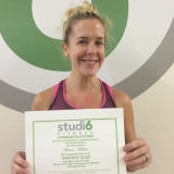 Blair Miller, Studio 6 Fitness Century Club Member