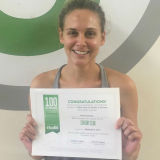 Brandi Shoemaker, Studio 6 Fitness Century Club Member