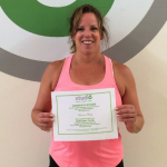 Karen Ray, Studio 6 Fitness Century Club Member