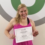 Kelly Hine, Studio 6 Fitness Century Club Member
