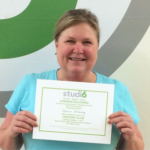 Laura Holaday, Studio 6 Fitness Century Club Member