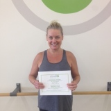Nicki Farris, Studio 6 Fitness Century Club Member