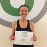 Sandy Laber, Studio 6 Fitness Century Club Member