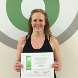 Shannon Thompson, Studio 6 Fitness Century Club Member