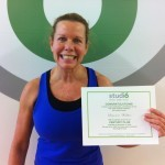 Suzanne Walker, Studio 6 Fitness Century Club Member