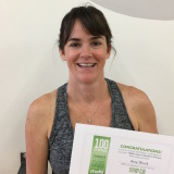 Amy Shuck, Studio 6 Fitness Century Club Member